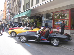 The Celebration of Louis Chevrolet's 100th anniversary was going on that same weekend in La Chaux-de-Fonds